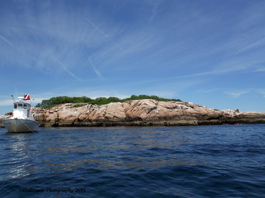 June 14, 2015 back side of Kettle Cove Island